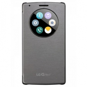 LG Flip Case Quick Circle G Flex 2 gray