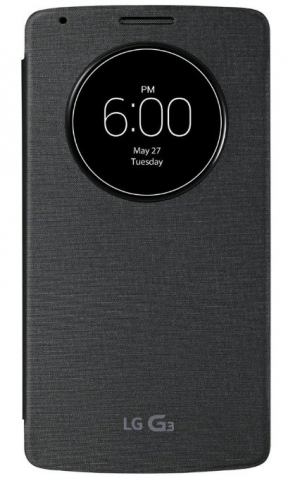 LG Flip Case with Window G3 black