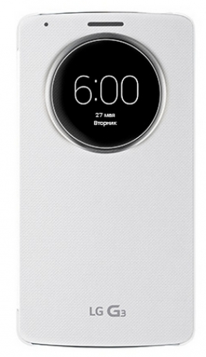 LG Flip Case with Window  G3 white
