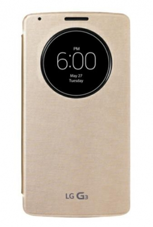LG Quick Circle Case G3 Gold