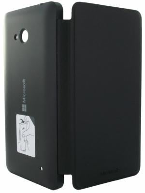 LUMIA 640 FLIP COVER BLACK