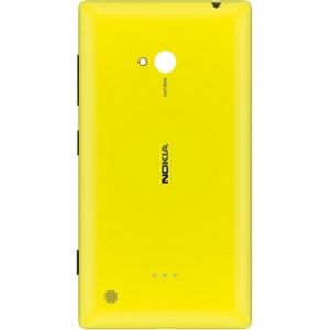 Wireless Charging Shell CC-3064 Lumia 720 yellow