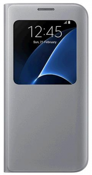 Samsung G930 SViewCover Silver за GalaxyS7