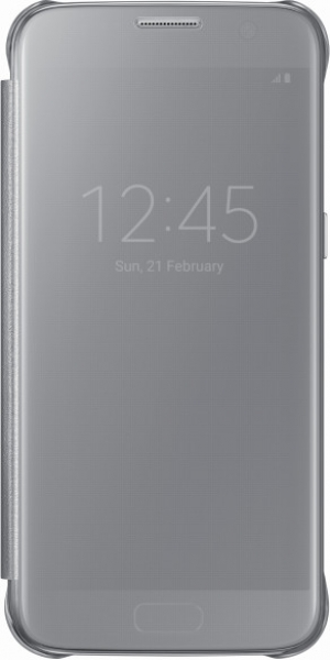 Samsung G930 ClearViewCover Silver за GalaxyS7