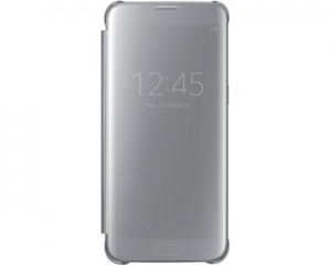 Samsung G935 ClearViewCover Silver за GalaxyS7+