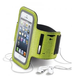 Armband спорт калъф за iPhone 5 жълт