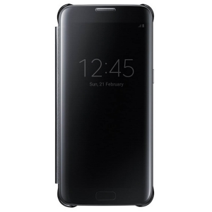 Samsung G935 ClearViewCover Black за GalaxyS7+