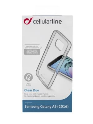 Samsung Galaxy А5 2016 прозрачен твърд кейс