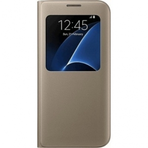 Samsung G935 SViewCover Gold за Galaxy S7+