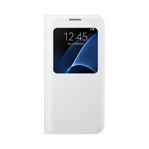 Samsung G930 SViewCover White за GalaxyS7