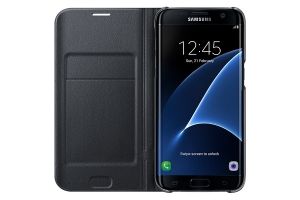 Samsung G935 LEDViewCover Black for GalaxyS7+