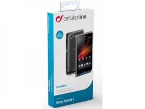Прозрачен капак за Sony Xperia L