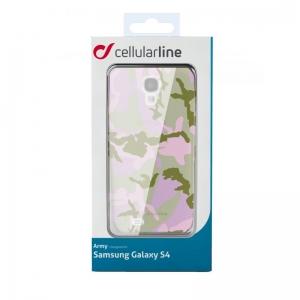 Army за Samsung Galaxy S4 розов