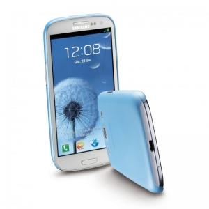 0,35мм калъф за Samsung I9300 S3 син