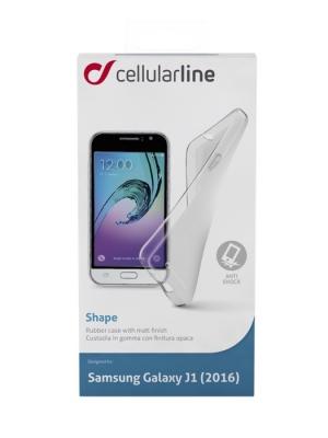 Shape калъф за Sams Galaxy J1 2016 прозрачен