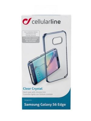 ClearCrystal калъф за Samsung Gal S6 edge син