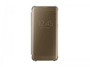 Samsung G935 ClearViewCover Gold за GalaxyS7+