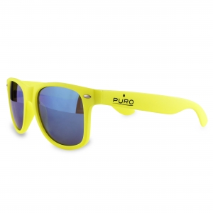 Puro Sunglasses Fluorescent Yellow