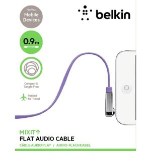 Belkin MIXIT↑™ 90° AUX аудио кабел - Flat: 0.9м