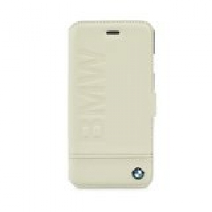 "Book case BMW iPhone 6 4,7"" beige"