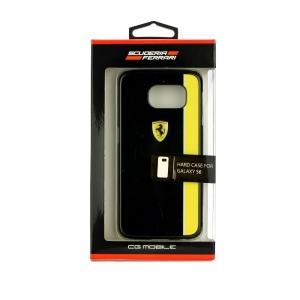 Hardcase Ferrari FEBKSHCS6BKY SAM S6 G920 bl ack / yellow