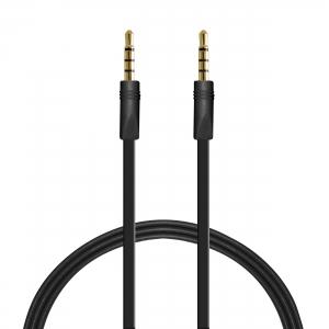 PURO плосък стерео аудио кабел: 1.0м