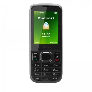 Телефон myPhone 6300 черен