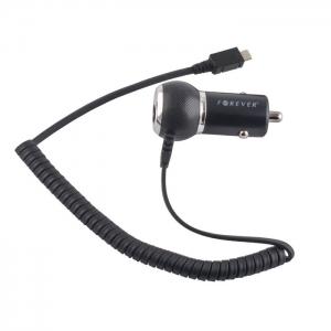 TFO зарядно за кола micro USB 1A черно