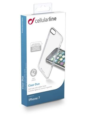 Прозрачен калъф Clear Duo за iPhone 7