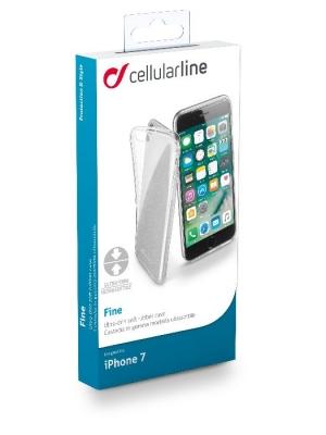 Fine прозрачен тънък калъф за iPhone 7