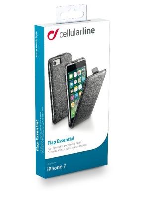 Flap Essential калъф за iPhone 7 черен