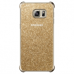 Samsung Galaxy S6 Edge+,G928,Glitter Cover,Gold