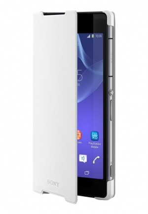 Sony Style Cover SCR10 за Xperia Z2 white