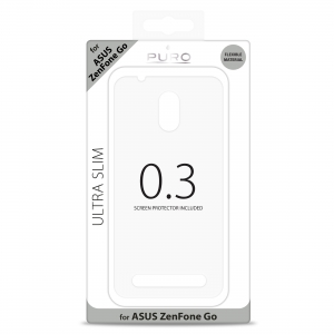 PURO Ultra Slim 0.3 за ASUS Zenfone GO: прозрачен