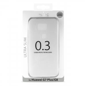 PURO Ultra Slim 0.3 за HUAWEI G8: прозрачен