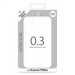 PURO Ultra Slim 0.3 за HUAWEI P8 LITE: прозрачен