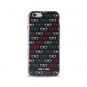 II ALLOVER калъф за iPhone 6/6S:черен