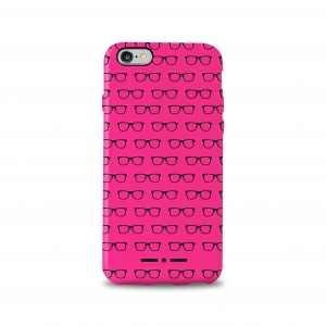 II ALLOVER калъф за iPhone 6/6S: розов