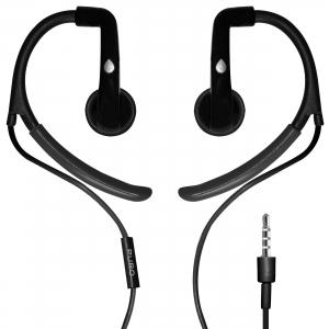 PURO EARBUD спортни слушалки: черни