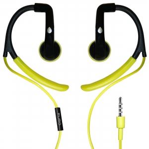 PURO EARBUD спортни слушалки с Mic & Remote:лайм