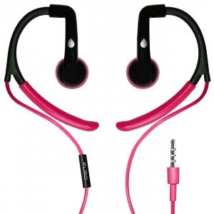 PURO EARBUD спортни слушалки с Mic & Remote:розов