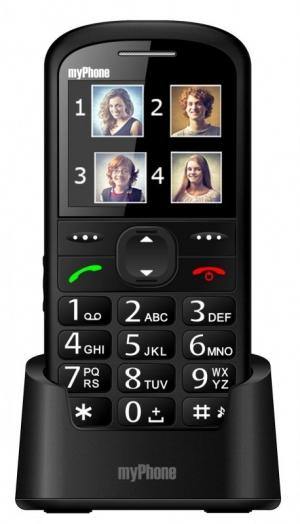 Телефон за възрастни myPhone Halo 2 черeн