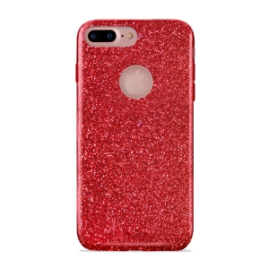PURO Shine Cover за iPhone 7 Plus: червен
