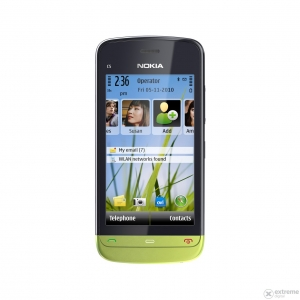 Nokia C5-03 LIME GREEN FEMALE EDITION