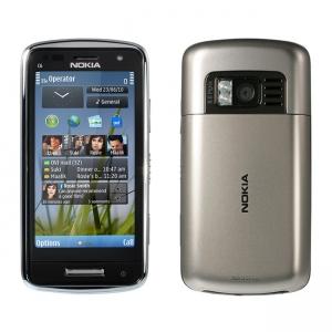 Nokia C6-01.3 Silver