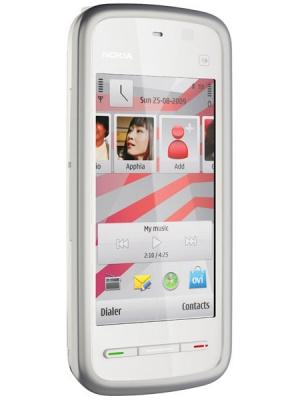 Nokia 5230 NAVI WHITE PINK