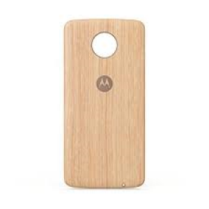 MOTO Z BACK COVER WASHED OAK