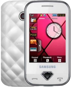 Samsung GT-S7070 Diva Pearl White