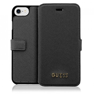 Book case GUESS GUFLBKP7LTBK iPhone 7 Plus black