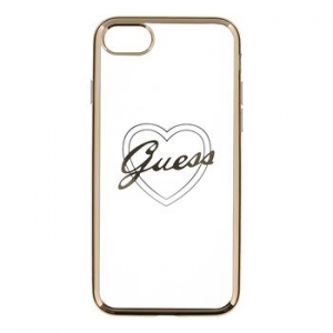 Faceplate case GUESS GUHCP7TRHG iPhone 7 gol